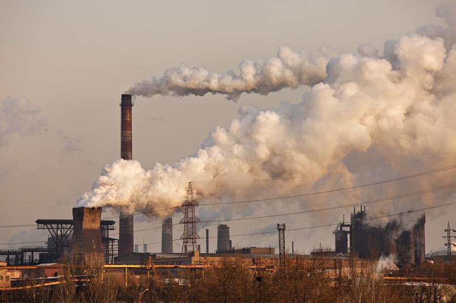 Zakłady chemiczne, zdjęcie ilustracyjne