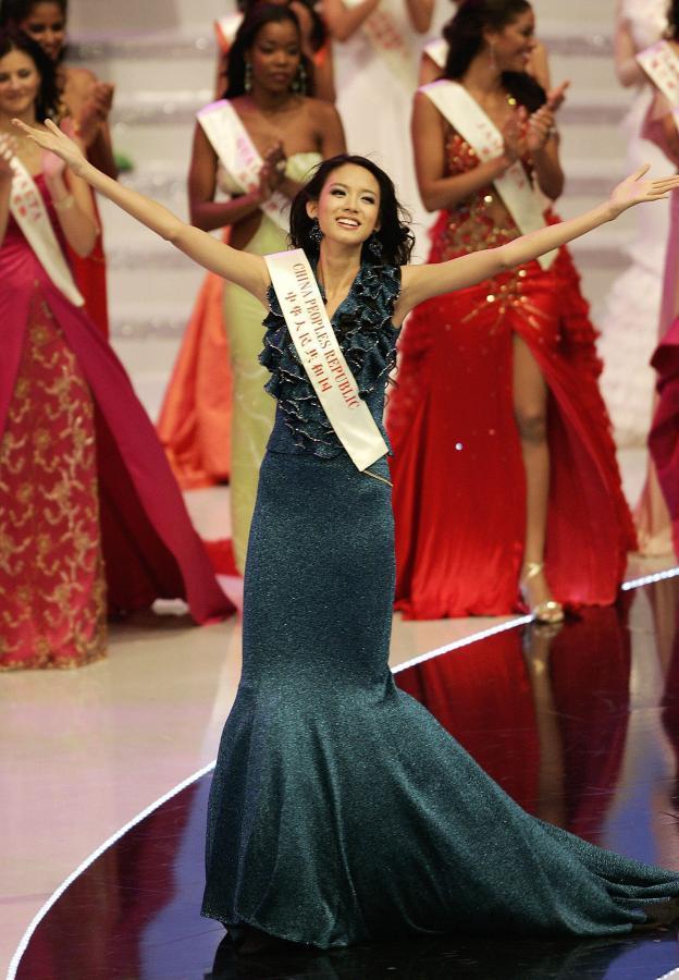 Szczęśliwa Miss Świata