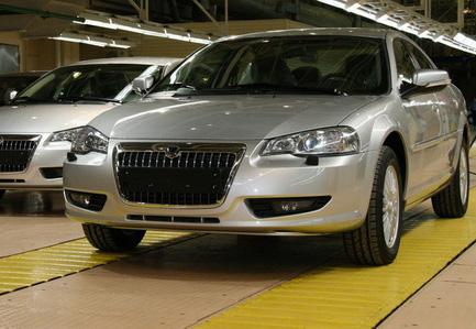 Wołga siber powstała na platformie od Chryslera