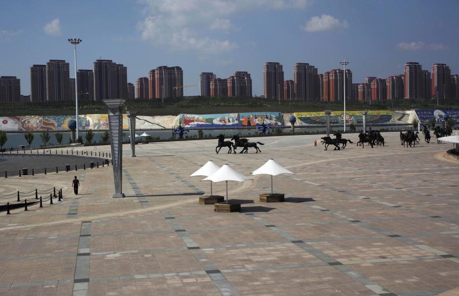 Kangbashi - dzielnica duchów w mieście Ordos w Chinach