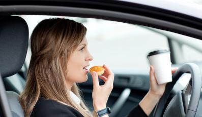 Jedzenie podczas jazdy