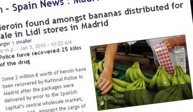 Heroina z bananami nowością w Lidlu