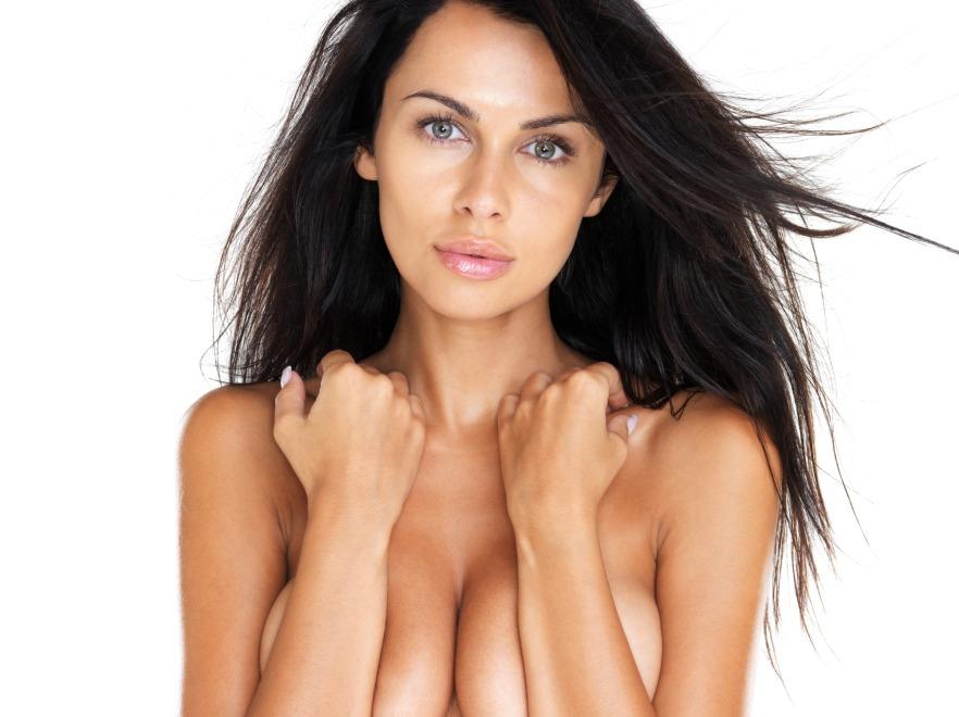 Kobieta topless