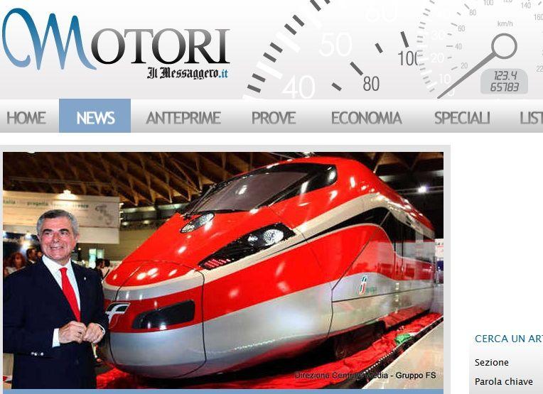 Włoski superpociąg