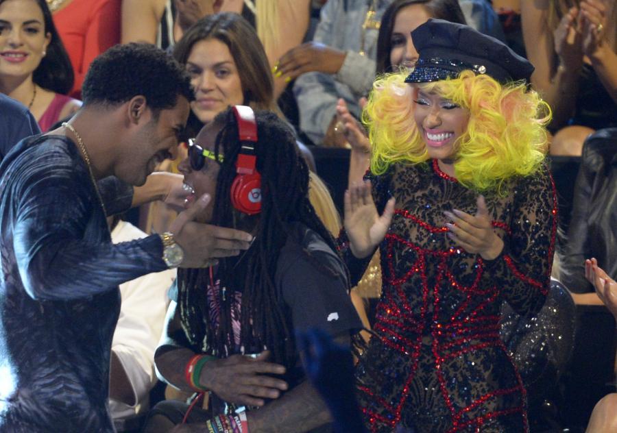 Nicki Minaj, Drake i Lil Wayne na gali MTV VMA