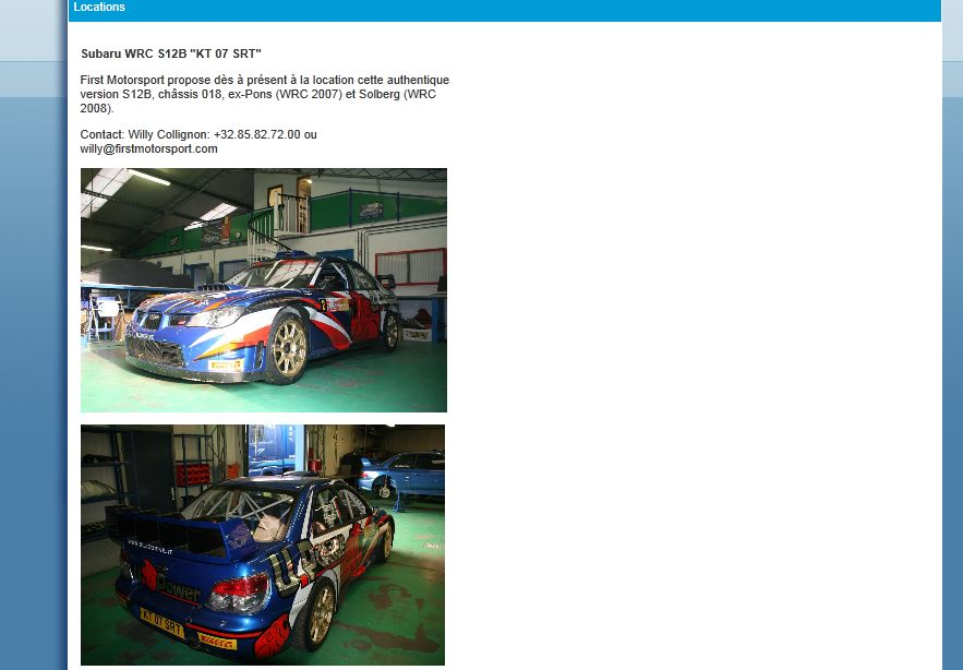 Subaru Impreza S12B by First Motorsport