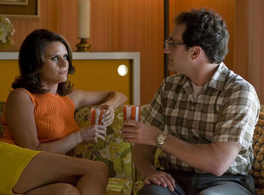 Amy Landecker i Michael Stuhlbarg w filmie braci Coen \