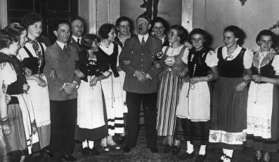 Joseph Goebbels i Adolf Hitler