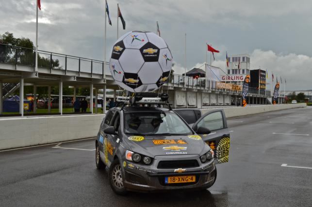 Aveo's First Mongol Rally Team
