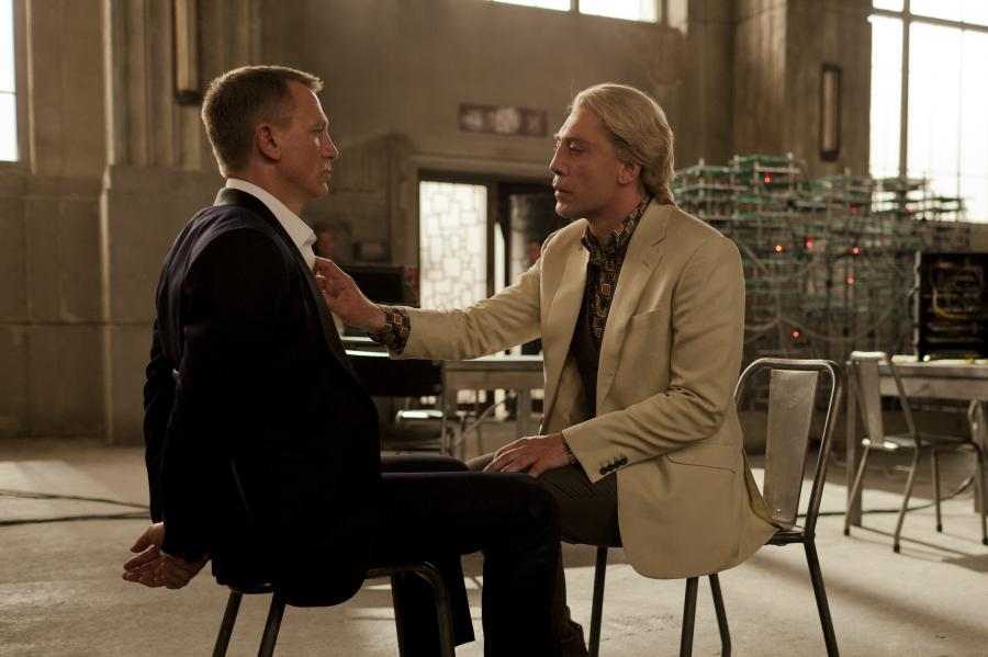 Javier Bardem i Daniel Craig w \