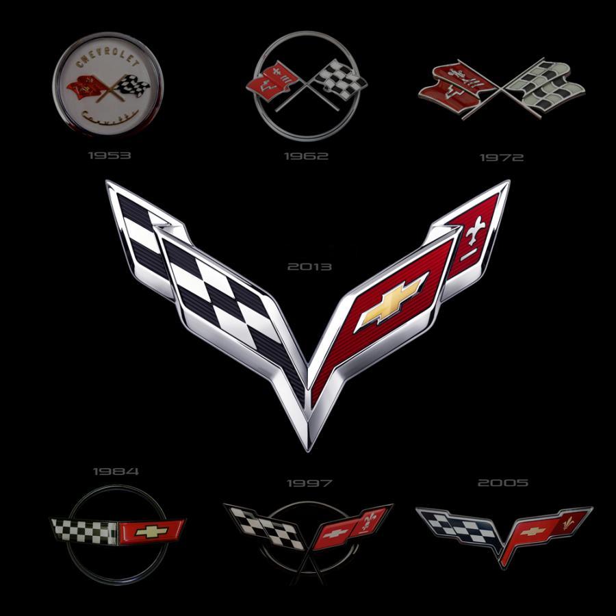 Nowe logo chevroleta corvette