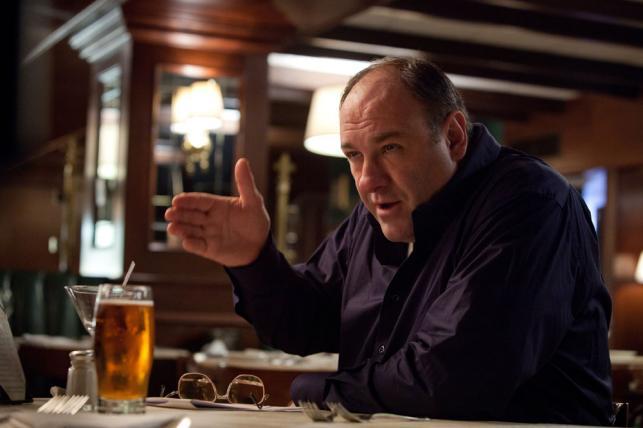 """James Gandolfini w filmie """"Zabić, jak to łatwo powiedzieć"""""""