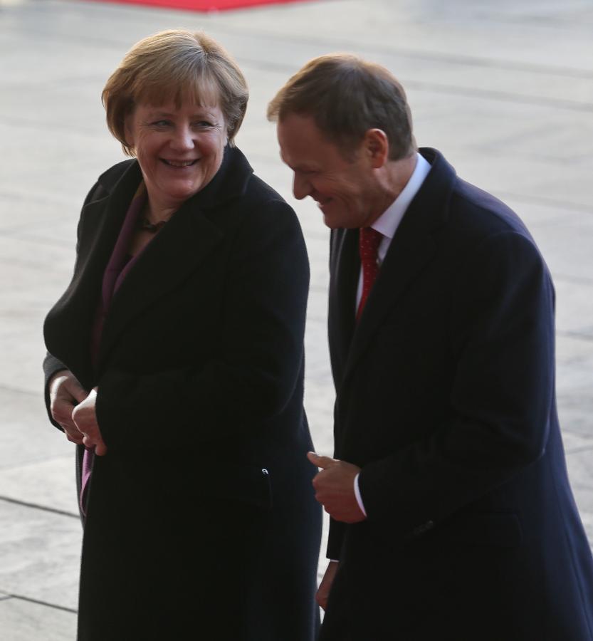 Donald Tusk i Angela Merkel naradzają się ws. budżetu UE