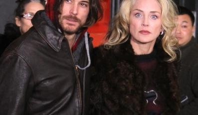 Sharon Stone i Martin Mica