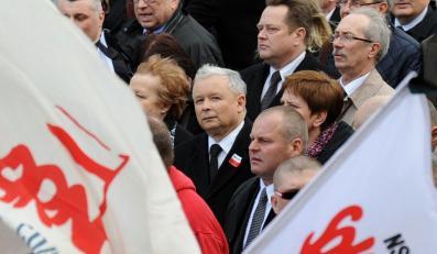 Jarosław Kaczyński zaprasza na marsz 13 grudnia