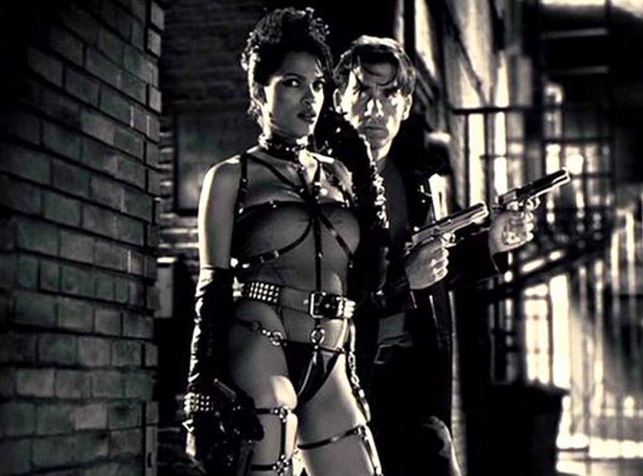 "Rosario Dawson w  ""Sin City"""