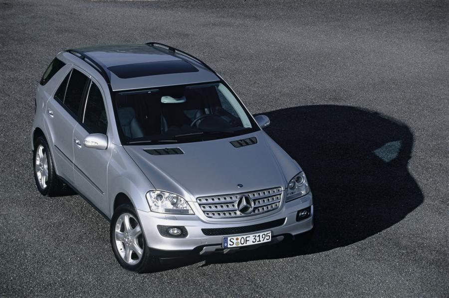 Mercedes klasy M - 105. miejsce w kategorii aut 6-7 letnich