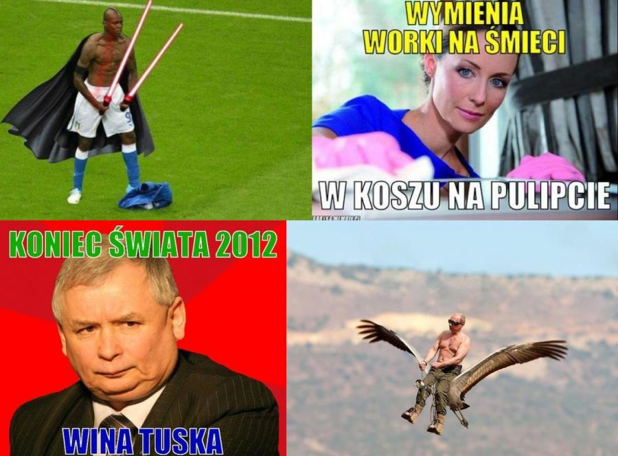 Ranking najpopularniejszych memów 2012