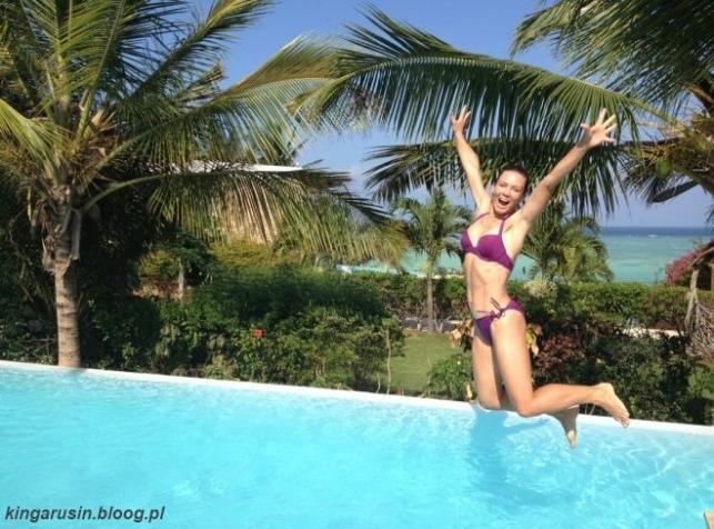 Kinga Rusin wypoczywa na Zanzibarze / zdjęcia zamieszczone na blogu Kingi Rusin