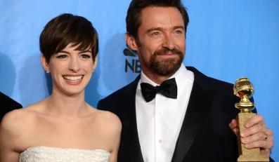 Anne Hathaway i Hugh Jackman – laureaci Złotych Globów