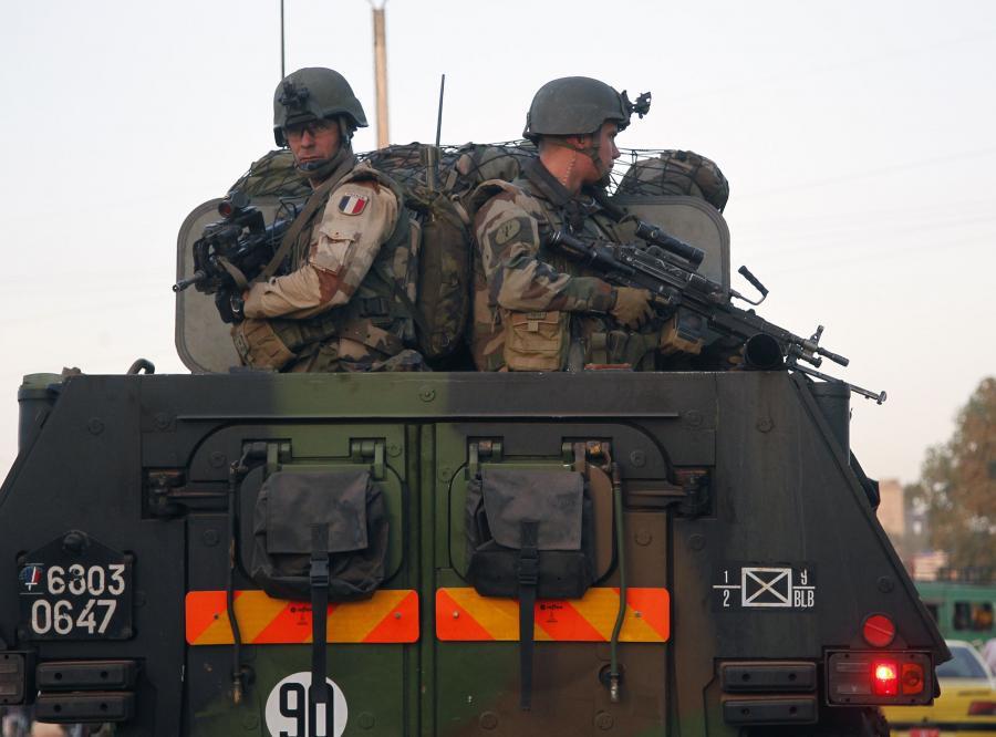 Francuscy żołnierze na Mali