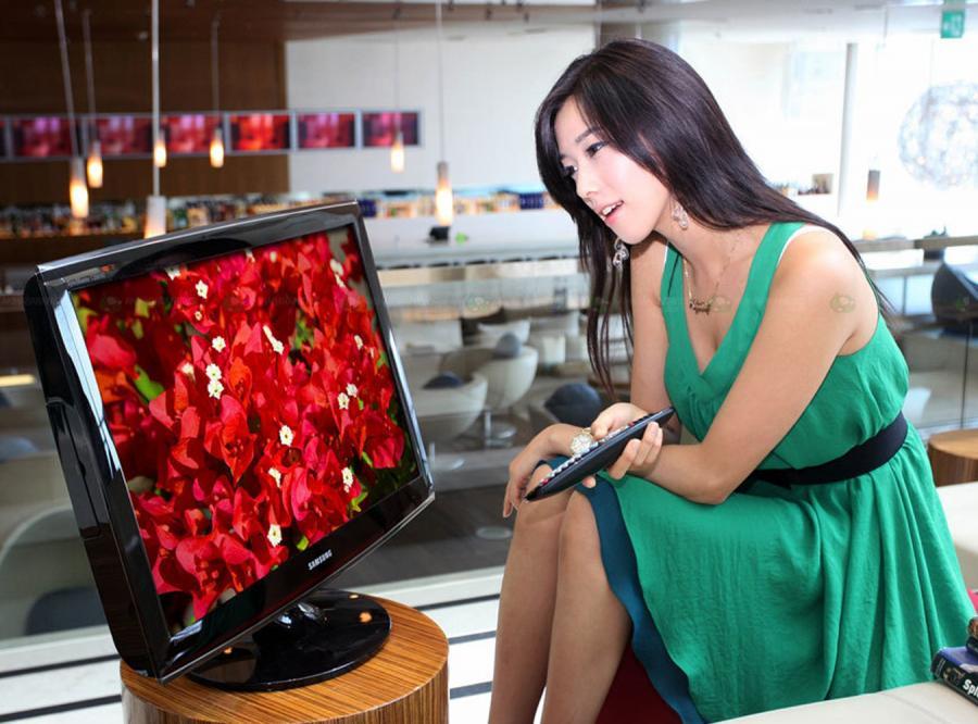 Modelki Samsunga równie ładne co ich LCD TV