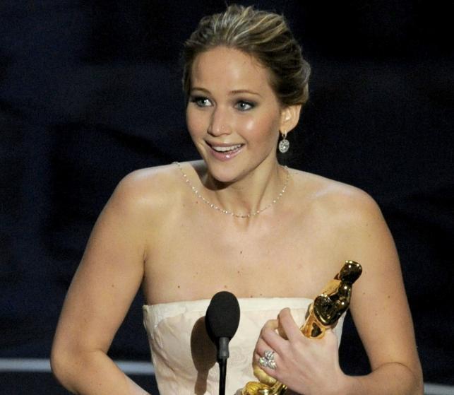 Jennifer Lawrence z Oscarem za najlepszą pierwszoplanową rolę kobiecą