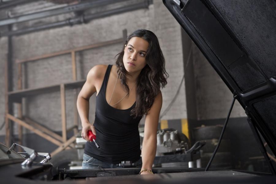 """Michelle Rodriguez w filmie """"Szybcy i wściekli 6"""""""