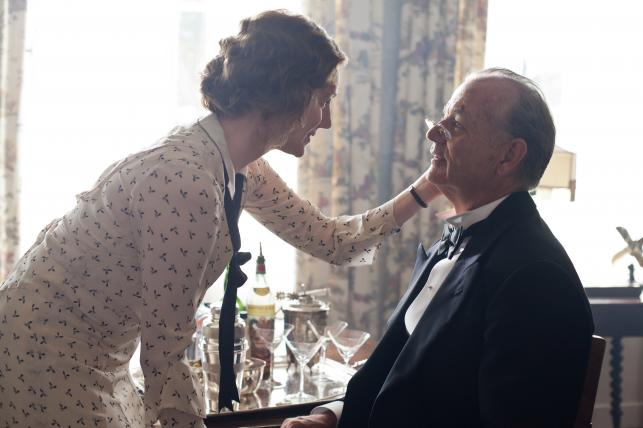 """Laura Linney i Bill Murray w filmie """"Weekend z królem"""""""