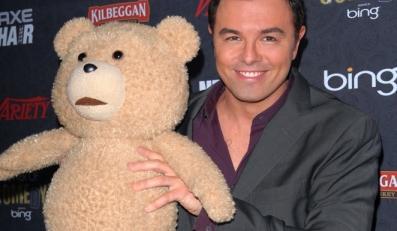 Seth MacFarlane ze swoim kumplem Tedem