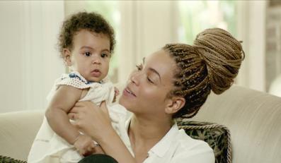 """Beyoncé i Blue Ivy w filmie """"Życie to sen"""""""