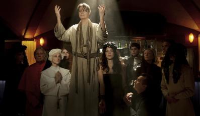 David Bowie ucharakteryzowany na Jezusa Chrystusa