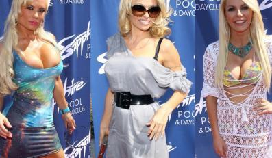 Coco Austin, Pamela Anderson i Crystal Hefner