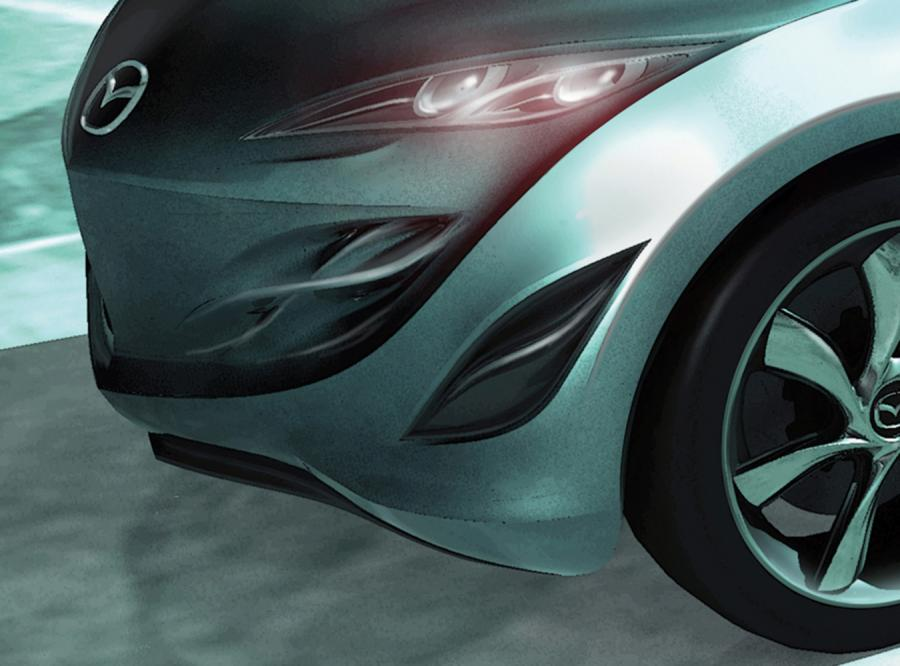 Mazda Kiyora to mały i lekki miejski samochodzik