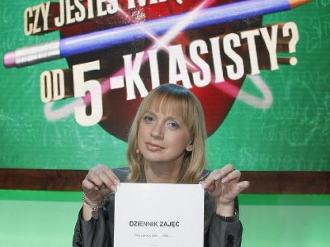 """Marzena Rogalska poprowadzi w  Pulsie teleturniej """"Czy jesteś mądrzejszy od 5-klasisty?"""""""