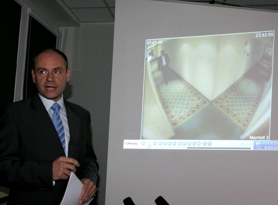 Czy prokurator Engelking dostał nagrodę za multimedialną konferencję o Kaczmarku i Krauzem?