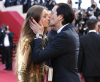 Lara Lieto i Adrien Brody na festiwalu w Cannes