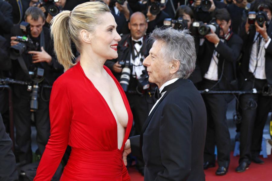 Emmanuelle Seigner w Cannes