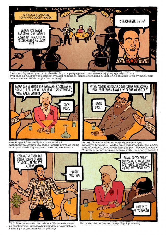 Powstanie '44 w komiksie