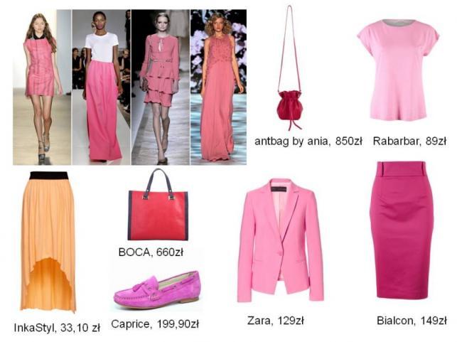 Modne kolory na lato 2013