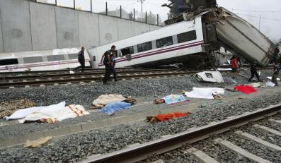 Katastrofa pociągu w Hiszpanii