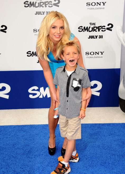 Britney Spears z synem