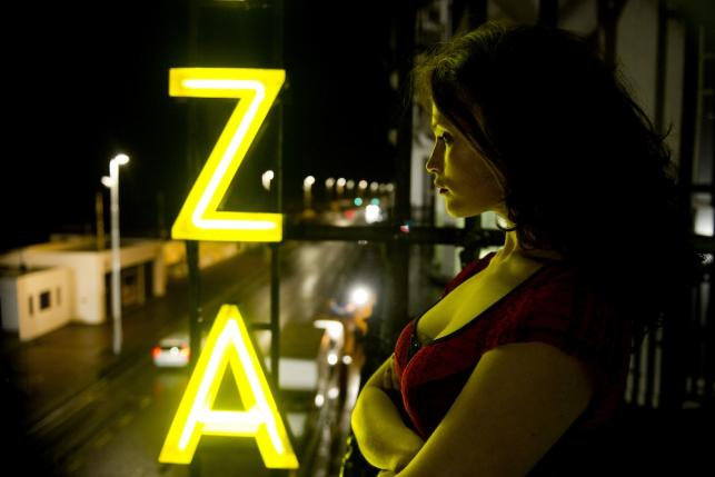 "Gemma Arterton w ""Byzantium"""
