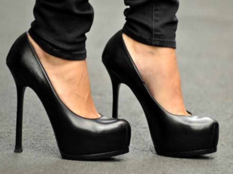 Wysokie buty