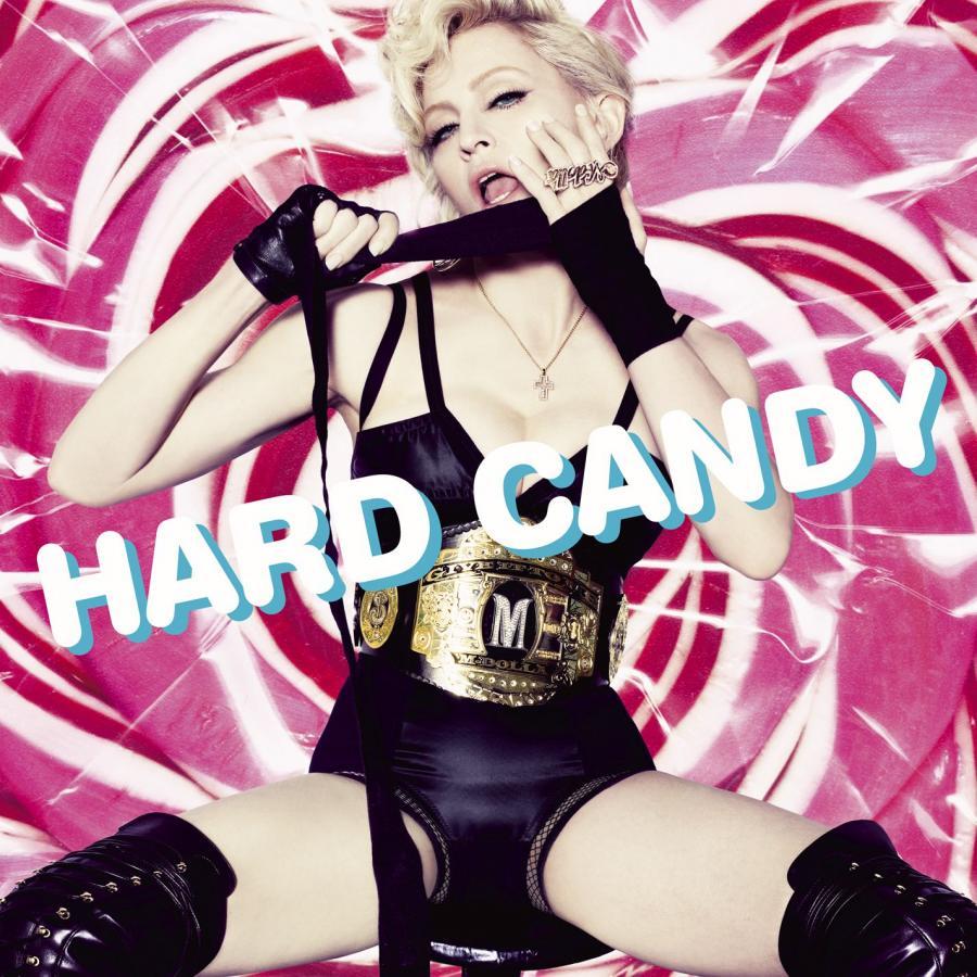"Madonna na okładce albumu ""Hard Candy"" (2008)"