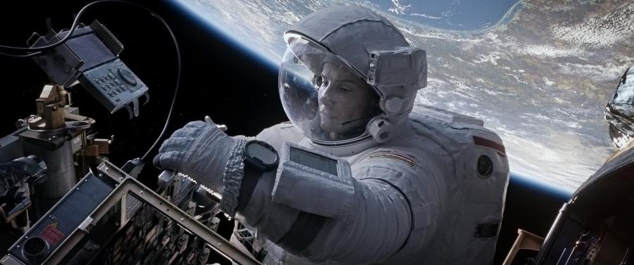 """Sandra Bullock w filmie """"Grawitacja"""""""