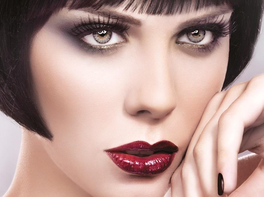 Modny makijaż Golden Rose jesień 2013