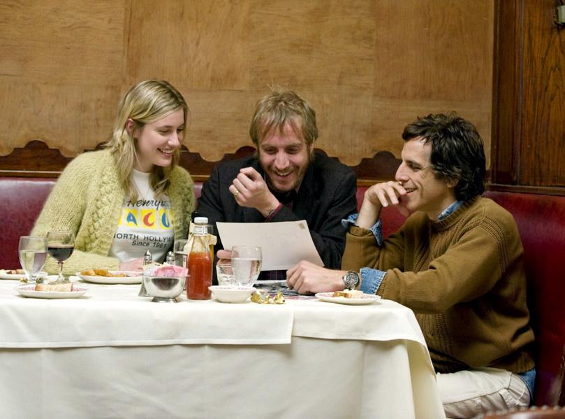"""Greta Gerwing, Rhys Ifans i Ben Stiller w filmie """"Greenberg"""""""