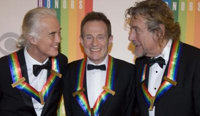 Jimmy Page, John Paul Jones i Robert Plant