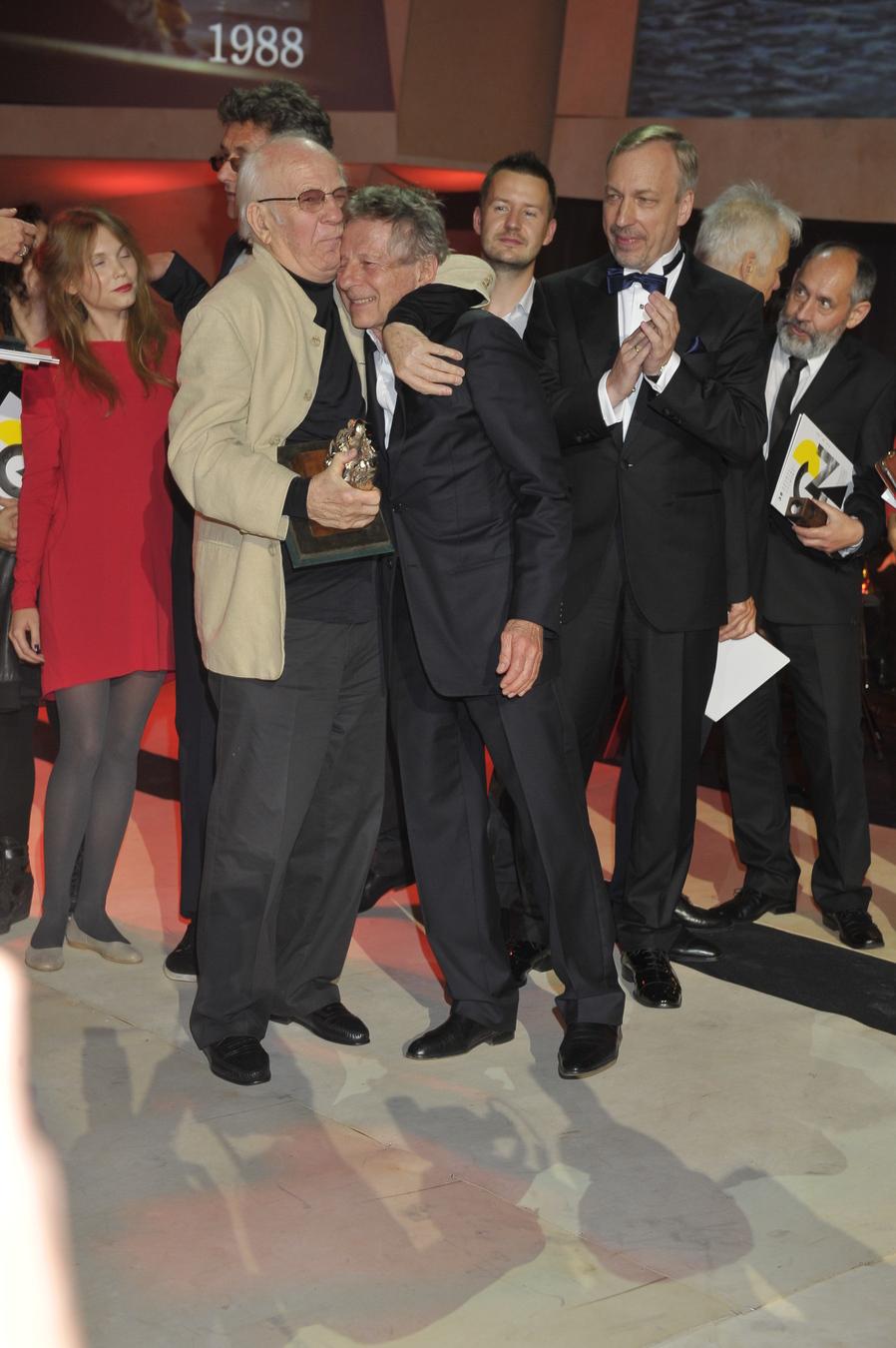 Jerzy Antczak, Roman Polański i Bogdan Zdrojewski